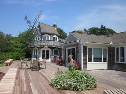 Chatham Cape Cod vacation rental - The deck with dining table & sun chairs