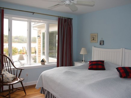 Chatham Cape Cod vacation rental - 3rd bedroom with lake view