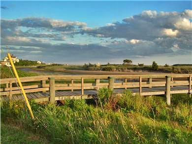 West Yarmouth Cape Cod vacation rental - Lewis Bay Boardwalk (End of street to beach)