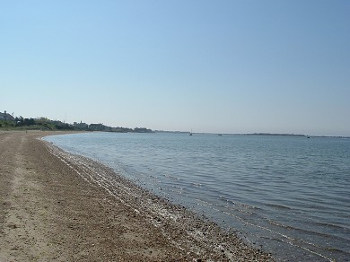 West Yarmouth Cape Cod vacation rental - Beach at peaceful Lewis Bay