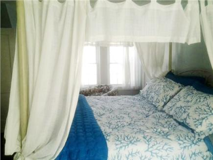 West Yarmouth Cape Cod vacation rental - Master Bedroom w/king canopy bed