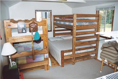 Brewster Cape Cod vacation rental - Bunk Beds