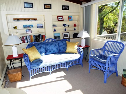 Orleans Cape Cod vacation rental - Sitting Area in Dining Room. Great for morning coffee and a book!
