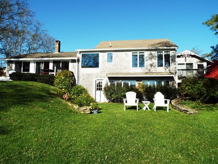 Orleans Cape Cod vacation rental - Lakeside Exterior of House.