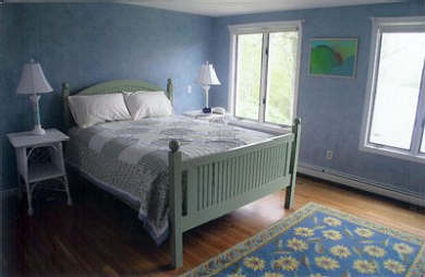 Orleans Cape Cod vacation rental - Queen Bedroom with Private Bath.