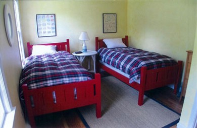 Orleans Cape Cod vacation rental - Twin Bedroom. Full Bath Directly Across Hall.