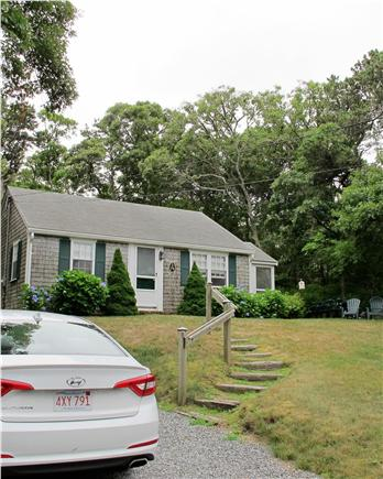 Chatham Cape Cod vacation rental - Front of Cottage from driveway