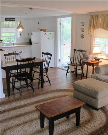 Chatham Cape Cod vacation rental - Living room looking at Kitchen