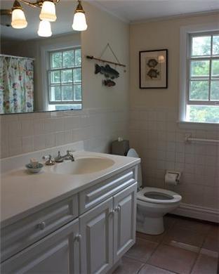 Wellfleet Cape Cod vacation rental - Updated & Spacious Guest Bath