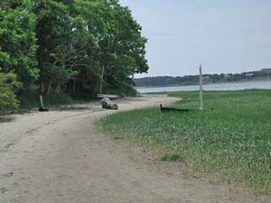 Wellfleet Cape Cod vacation rental - Stroll thru the conservation lands to the bay for a morning walk.