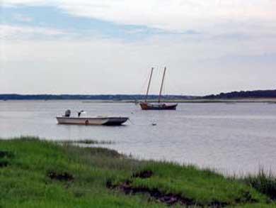 Wellfleet Cape Cod vacation rental - A view of the bay, a short walk thru the conservation lands.