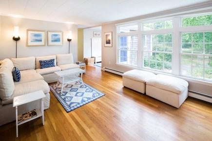 Wellfleet Cape Cod vacation rental - Spacious Living Room Overlooking Garden