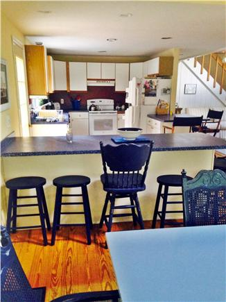 Wellfleet Cape Cod vacation rental - Kitchen breakfast bar