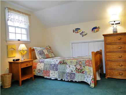 Brewster, The Highlands Cape Cod vacation rental - Upstairs bedroom with two twin beds.