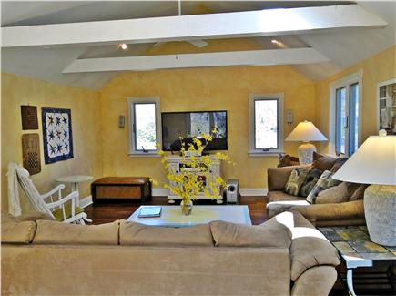 Brewster, The Highlands Cape Cod vacation rental - High Def TV with DVD/surround sound in family room