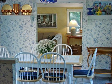 Brewster, The Highlands Cape Cod vacation rental - Cathedral ceiling & glass walls in cheery sunroom.