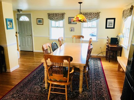 Hyannis Cape Cod vacation rental - Dining Room with seating for 12 plus (table has additional leaf)