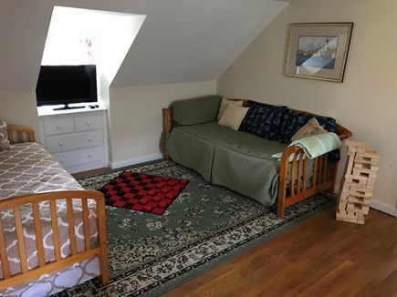 Hyannis Cape Cod vacation rental - Upstairs game room attached to bedroom and full bath.  2 daybeds.