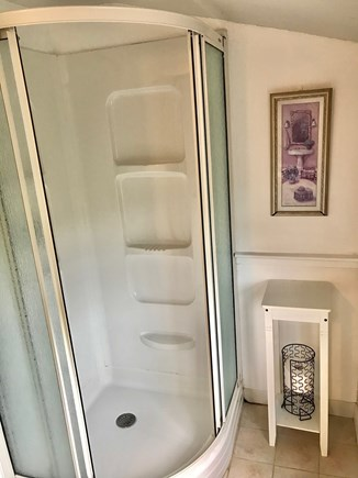 Hyannis Cape Cod vacation rental - Shower in upstairs bathroom