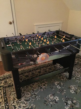 Hyannis Cape Cod vacation rental - Foosball table in game room