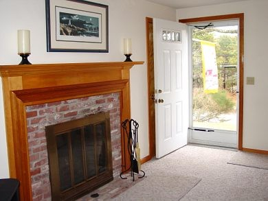Chatham Cape Cod vacation rental - Welcome and inviting living room with fireplace