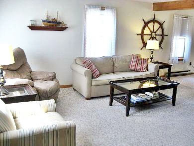 Chatham Cape Cod vacation rental - Alternate view of comfortable living room for all to enjoy!