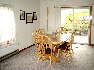 Chatham Cape Cod vacation rental - Dining Room with sliders to deck