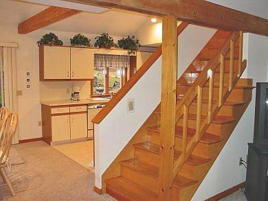Chatham Cape Cod vacation rental - Stairs/Kitchen