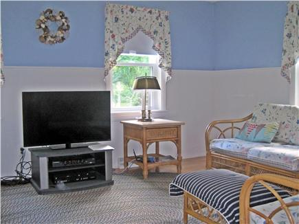West Harwich Cape Cod vacation rental - Living room with a flat screen HD TV