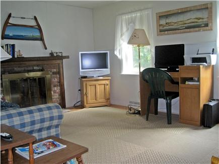 West Harwich Cape Cod vacation rental - Reading room, Flatscreen TV, Computer desk, Sleeper sofa