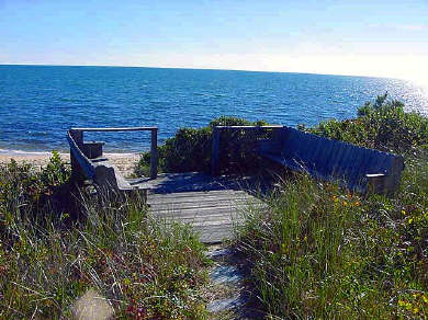 Dennis Port Cape Cod vacation rental - View from home overlooking Nantucket Sound
