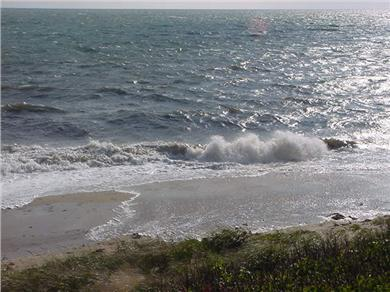 Dennis Port Cape Cod vacation rental - Wave action at your doorstep