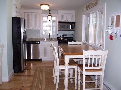 Harwich Port Cape Cod vacation rental - Eat-in kitchen