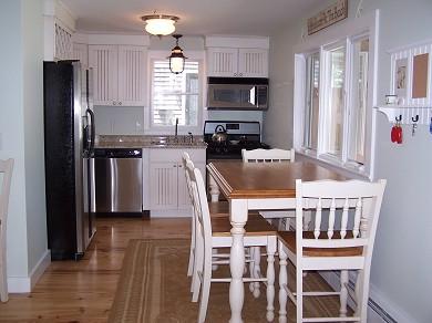 Harwich Port Cape Cod vacation rental - Eat-in kitchen