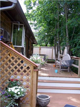 Provincetown Cape Cod vacation rental - Multi-level private outside decks