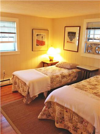 Provincetown Cape Cod vacation rental - Detail photo of the bedroom with two twin beds