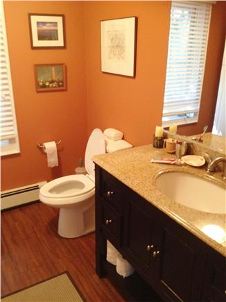 Provincetown Cape Cod vacation rental - Partial view of one of two full bathrooms