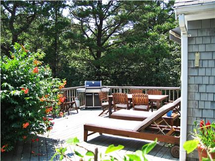 Wellfleet Cape Cod vacation rental - Gorgeous Deck to Lounge On