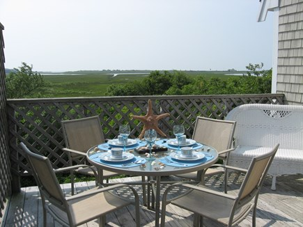 West Yarmouth Cape Cod vacation rental - Cool breezes and Beautiful Views from the Deck