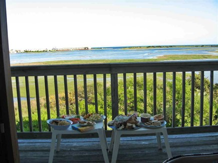 West Yarmouth Cape Cod vacation rental - View from the other deck upstairs