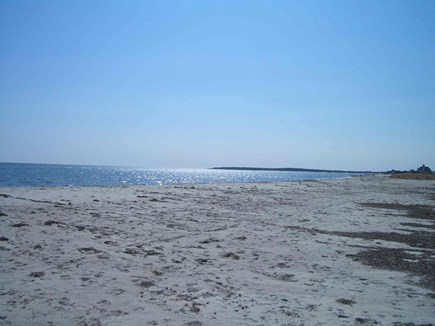 West Yarmouth Cape Cod vacation rental - Seagull beach ~1 mile via the road but seen across the marsh.