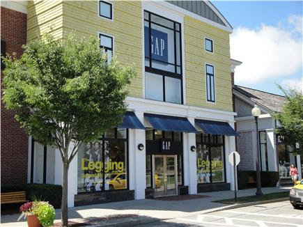 New Seabury (Mashpee) New Seabury vacation rental - Gap store in Mashpee commons has great bargains