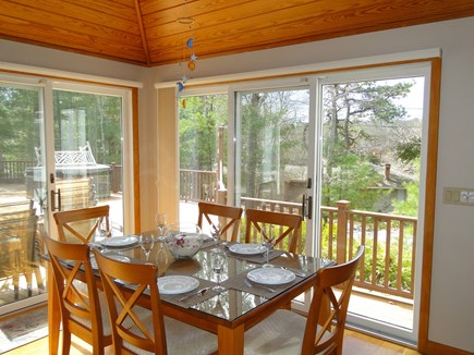 New Seabury (Mashpee) New Seabury vacation rental - Dining area with skylights, sliding doors to pool area
