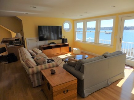 Oyster Pond/Chatham Cape Cod vacation rental - TV area - Second floor