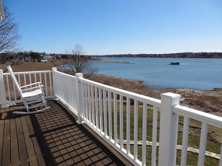 Oyster Pond/Chatham Cape Cod vacation rental - View from Second floor balcony