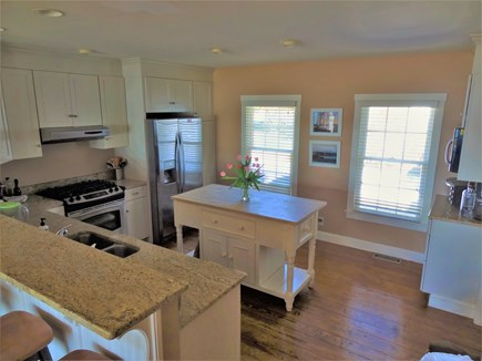 Oyster Pond/Chatham Cape Cod vacation rental - Open kitchen with large center island