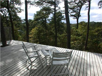 Wellfleet Cape Cod vacation rental - View to west and far marsh, bay