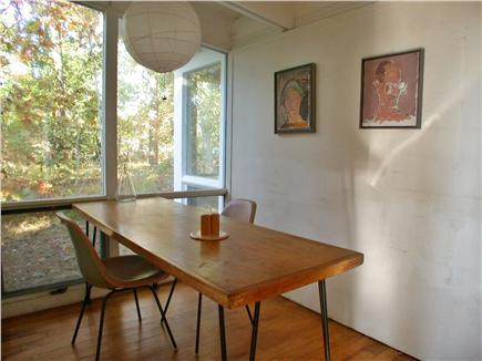 Wellfleet Cape Cod vacation rental - Dining nook
