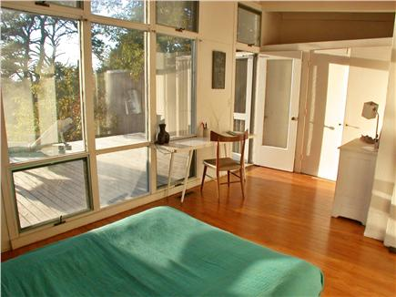 Wellfleet Cape Cod vacation rental - Deck bedroom
