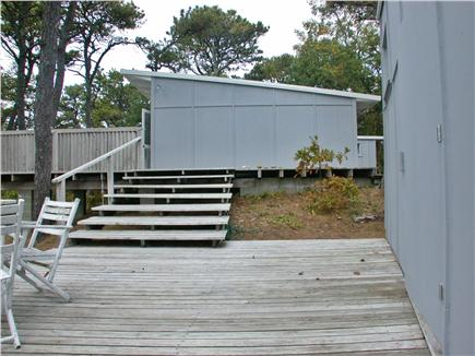 Wellfleet Cape Cod vacation rental - From studio deck